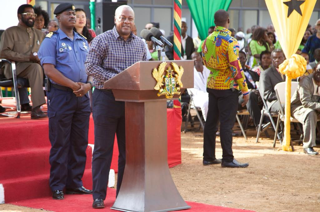Mahama writes on emoluments for spouses of president, vice president